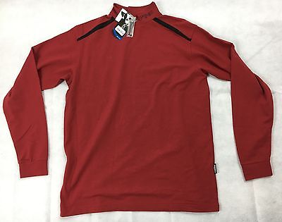 Ping Golf Coen Turtle Neck Base Layer Medium Tabasco Dark Red - Tagged at £33