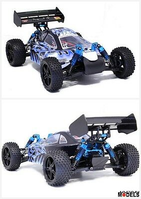 Hsp Rk Athena BUGGY PRO Trojan 2.4GHZ 1/10 Rc Brushless  RTR New