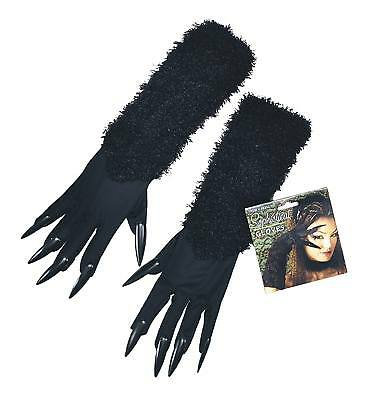 FANCY DRESS Cat Gloves With Claws