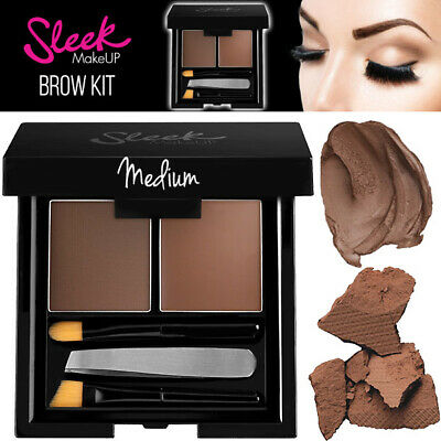 Sleek Makeup EyeBrow Pigmented Wax Shaping Makeup Kit - Medium