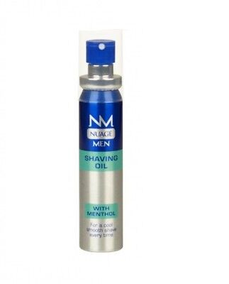 Nuage Mens Shaving Oil With Menthol Cool Fresh & Smooth Shave - 25ML