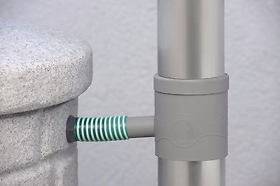 Self cleaning Rainwater Water butt Filter and Rain Diverter for downpipes
