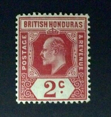 BRITISH HONDURAS 1905 stamp 2 Cents CARMINE (UNUSED)