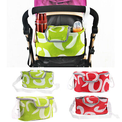 Baby Changing Pram Stroller Buggy Storage Pushchair Bag Bottle Cup Organizer