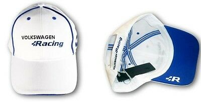 New Genuine Volkswagen R Collection White Baseball Cap