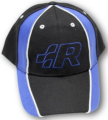New Genuine Volkswagen R Collection Black Blue Baseball Cap