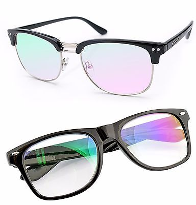 Glasses Clear Lens Anti Glare Computer, gaming TV, Glasses UV Anti Radial Reflex