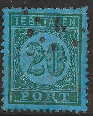 Netherlands Indies stamps 1874 NVPH P3f  ERROR  CANC  VF