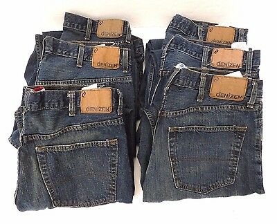 BRAND NEW LOT OF 6 LEVIS DENIZEN 285 Men's JEANS relaxed fit ALL size 38 x 33