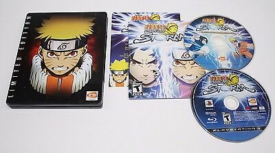 Naruto: Ultimate Ninja Storm 1 Limited Edition (Sony Playstation 3) Complete