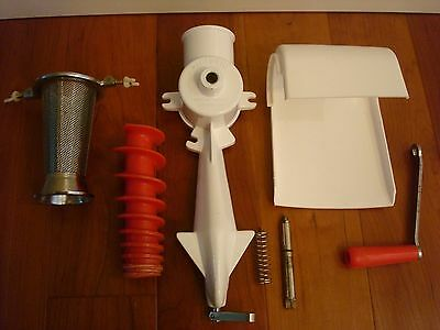 Parts For Victorio Food Strainer Model # 200 Replacement Handle Strainer Main