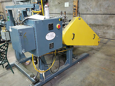 Michigan Plastics Machinery Large Plastic Hose Coiler Machine