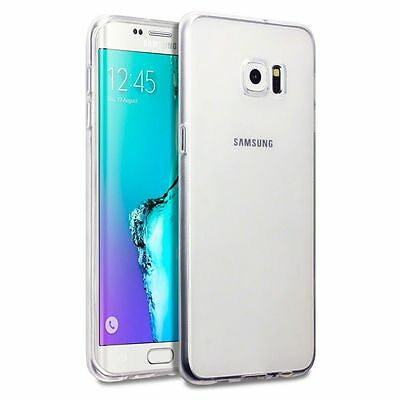 Silicon TPU Jelly case Samsung Galaxy S4, S5, S6, S7 S8 Edge Plus Cover Clear