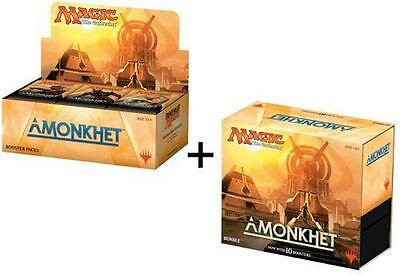 MAGIC MTG AMONKHET BOOSTER BOX And BUNDLE FAT PACK Factory Sealed New