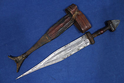 Antique Tuareg Tedda (Tubu) dagger - North Africa 19th early 20th