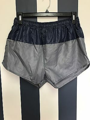 Vintage Men's Nylon Swim Trunks Drawstring Shorty NWOT