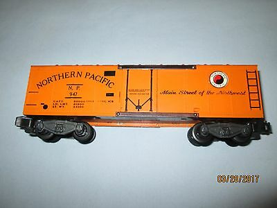 American Flyer #947 Northern Pacific Reefer Car. Excellent Condition.