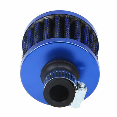 "3//8/"" Inch 10mm Air Breather Filter Universal Crankcase BLUE For Ford//Mercury"