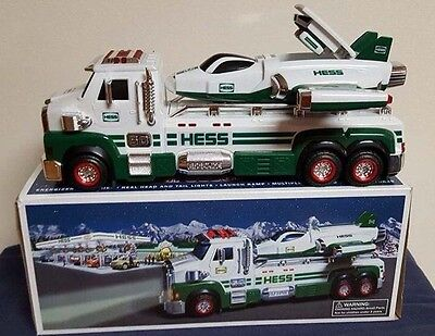 2014 Hess Toy Truck and Space Cruiser with Scout-New In Box, Never Opened