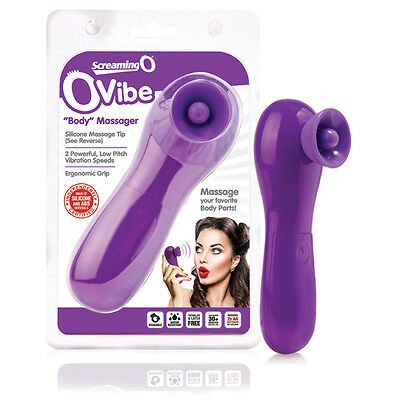 THE SCREAMING O - OVIBE,2 Speeds,Body-Safe Silicone,Body Massage,Reusable