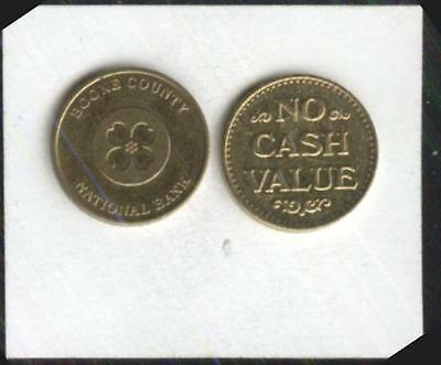 Boone County National Bank  Parking Token #2