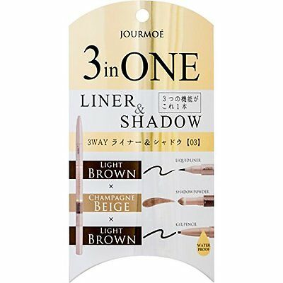 Jurumoe 3WAY liner & shadow 03 champagne