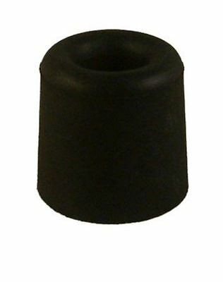Adoored Door Stop White Rubber Round - Black OR White 30mm