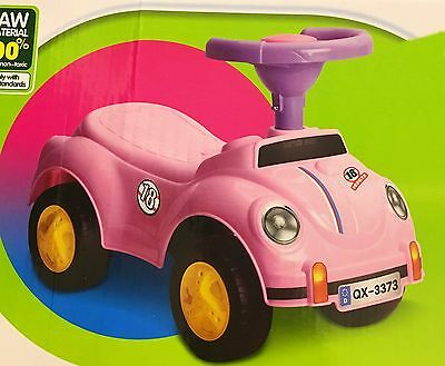 Ride On Toy Kids Child Car Push Along Children Balance Toddler Walker Beetle