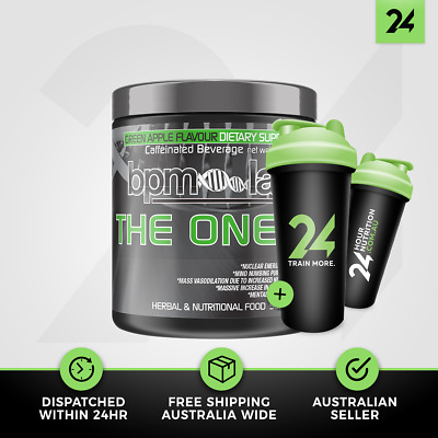 BPM Labs The One Black Label | 30 Serves | Explosive Pre Workout | Free Gift!