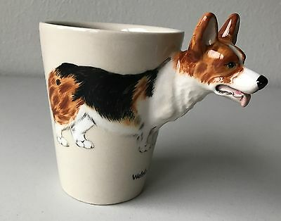 Hand Crafted Corgi Mug - Welsh Corgi Mug - Ceramic Mug