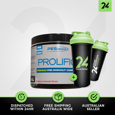 PEScience Prolific | PE Science High Energy Pre Workout Complex | Free Gift!
