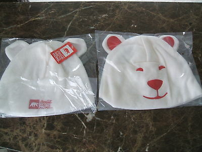 NWT Coca-Cola Coke Arctic Home Polar Bear Winter Cap Hat 2012