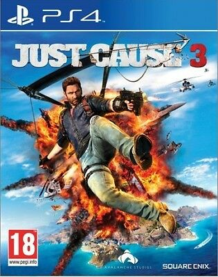 New Just Cause 3 III (PS4, Playstation 4)