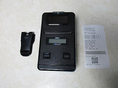Star Micronics SM-S220i POS Portable Bluetooth Thermal Printer No Charger
