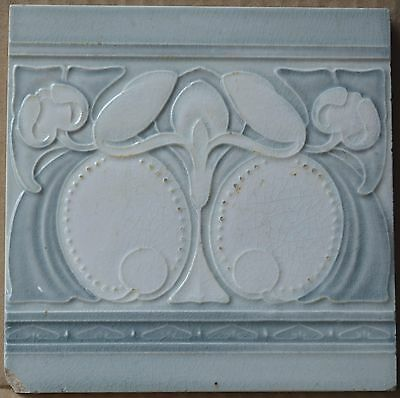 Unknown European - Antique Art Nouveau Majolica Tile C1900