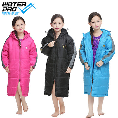 Water Pro Junior Youth Water Sport Swimming Parka Jacket 3M PINK,BLUE AND BLACK