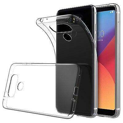 Ultra Thin Slim Soft TPU Clear Transparent Case Cover For LG G6 | Q6 I G7 ThinQ