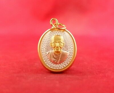 "Real Thai AMULET Stainless Steel holy Rope Necklace 25"" For 1 Pendant 1 Takrud"