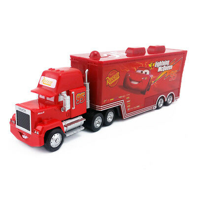 Disney Pixar Car No.95 McQueen Mack Truck Uncle Toy Car 1:55 Loose New In Stock