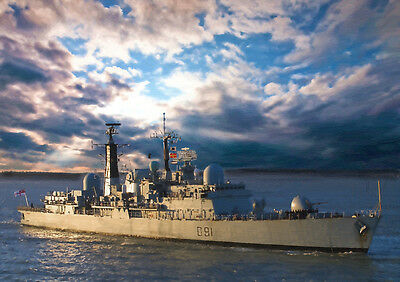 Hms Nottingham - Hand Finished, Limited Edition (25)