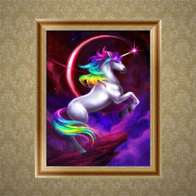 DIY 5D Diamond Embroidery Painting Horse Cross Stitch Crafts Home Wall Decor