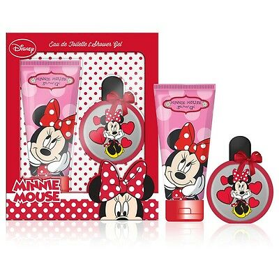 Coffret Cadeau - Eau de Toilette 50ml et Gel Douche 100ml - Mickey and Minnie
