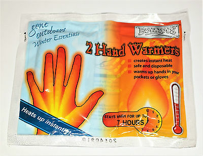 Instant Hand Warmers - Pack Of 2