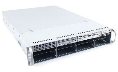 "Supermicro SC825 E-ATX Server Chassis Case 19"" Rack Mount 2U Server-Gehäuse 2HE"