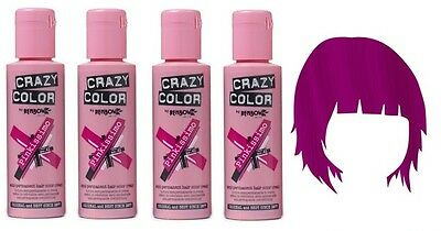 Colorant Cheveux Crazy Color 100ml - Pinkissimo x4