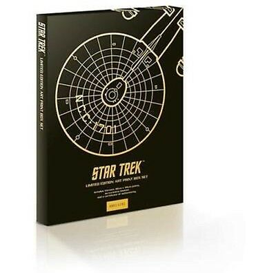 13 STAR TREK LIMITED EDITION PRINTS-BOX SET-30x40cm-526/1701-RETRO ORIGINAL-NEW
