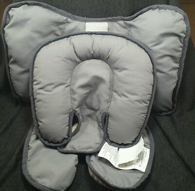 Britax Head & Body Support Pillow Car Seat Stroller NEW Baby Infant Reversible
