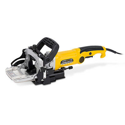 Powerplus 900w 230v Biscuit Joiner & Saw Blade Joiner Cutter Dust Bag Wood Work