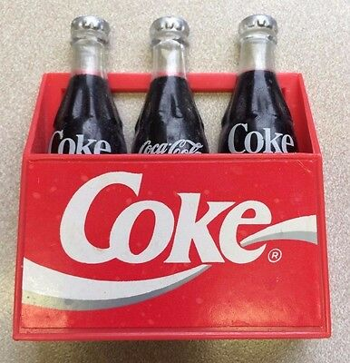 """Coke-Cola  Magnet ~6 Pack 1993 """" THE COCA COLA CO"""" APPROX. 2 3/4"""" T x 2 3/4"""" W"""