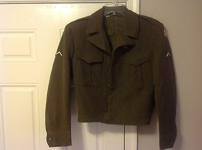 US Army Military Field Jacket Ike WW2 Uniform Lot  !!!BIG LOT!!!
